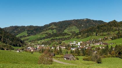 Landschaft im Neckertal