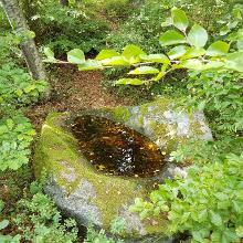 """Åsnen Runt at Ulvåsen and the mythical creature: """"Näckens"""" bathtub"""