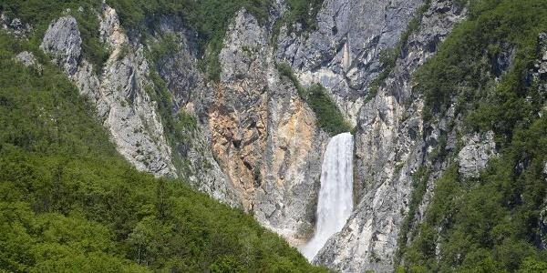 Boka waterfall, Bovec