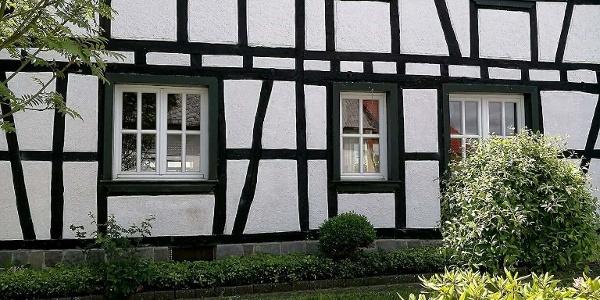Fachwerkhaus in Bodenbach / Geschichtsstrasse