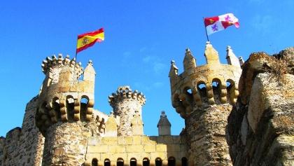Ponferrada: durch Tempelritter befestigte Stadt