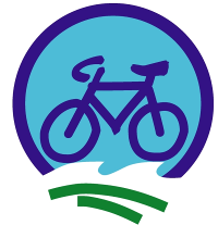 Nordseeküsten-Radweg Logo