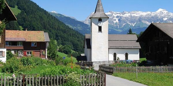 Kirche in Valzeina