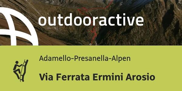 Klettersteig in den Adamello-Presanella-Alpen: Via Ferrata Ermini Arosio