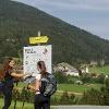 Der Brot & Morendenweg, bestens beschildert...