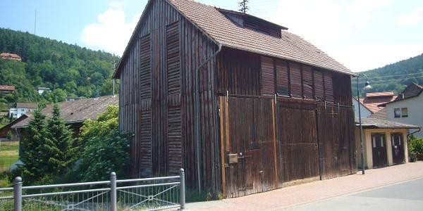 alte Tabakscheune an der Morrebrücke, Hettigenbeuern