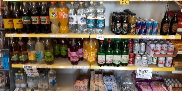Nära dej i Överturingen har stort urval i liten butik, drycker bland annat.