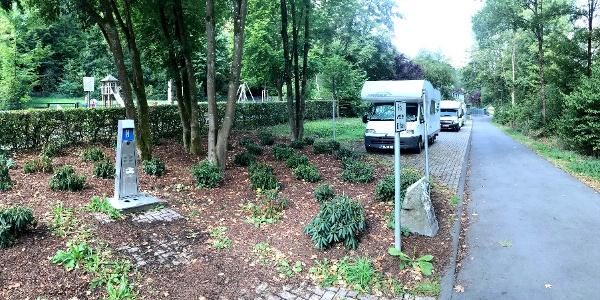 Wohnmobilstellplatz in Siegen