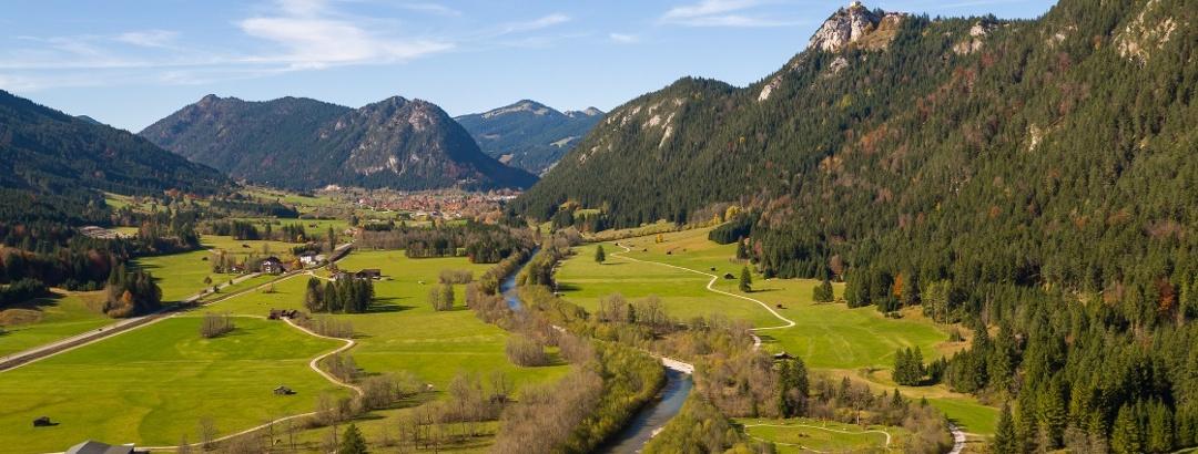 Wandertouren im Tal und in den Alpen