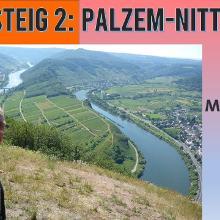 Moselsteig 2 - die Mosel von oben   Etappe Palzem-Nittel   Wandern an der Mosel   Dirk Kunze   # 65
