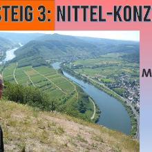 Moselsteig 3 - Jörg ist wieder da!   Etappe Nittel-Konz   Wandern an der Mosel   Dirk Kunze   # 66