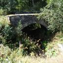 "alte Grenzbrücke an der ""Buttermühle"""