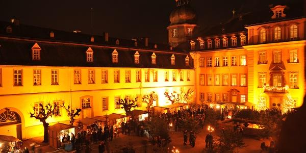 WeihnachtsZeitreise  Bad Berleburg Schloß beleuchtet