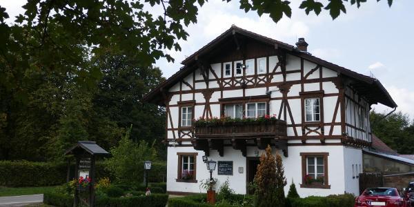 """Die Gaststätte """"Forsthaus Taubensuhl"""""""