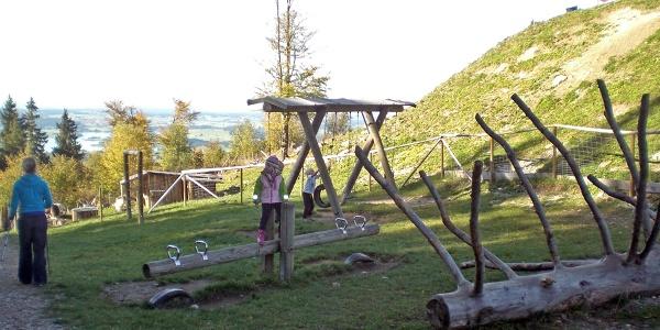 Spielplatz an der Buchenbergalm