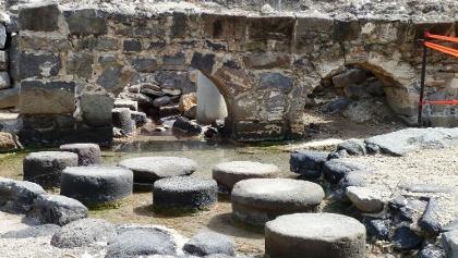 שרידי בית הרחצה הרומי בחמת טבריה