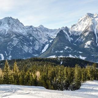 Ausblick vom Hirscheck zu Watzmann, Wimbachtal und Hochkalter
