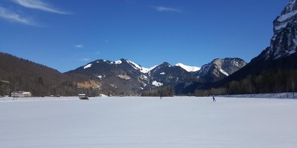 Winterwanderweg von Mellau nach Schnepfau