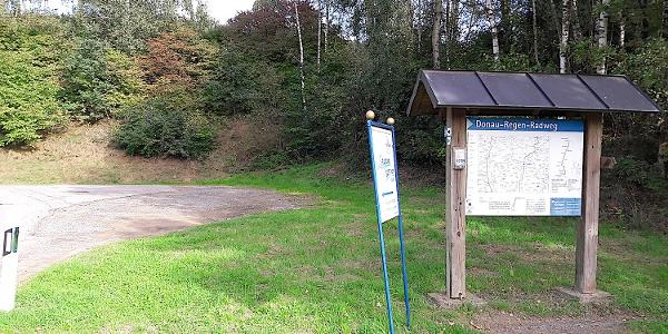 Wanderparkplatz am Start