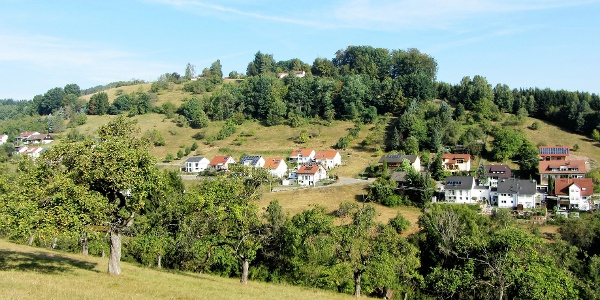 Blick zur Bergstraße