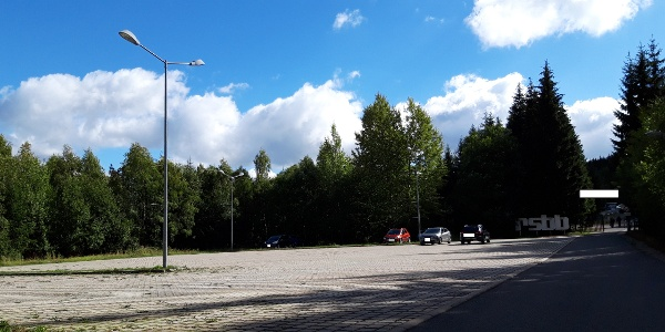 Parkplatz Bobbahn Haupteingang