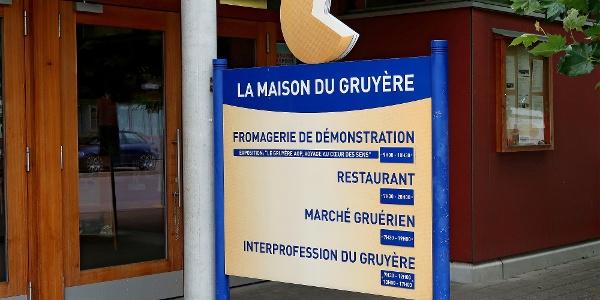 Schaukäserei La Maison du Gruyère.