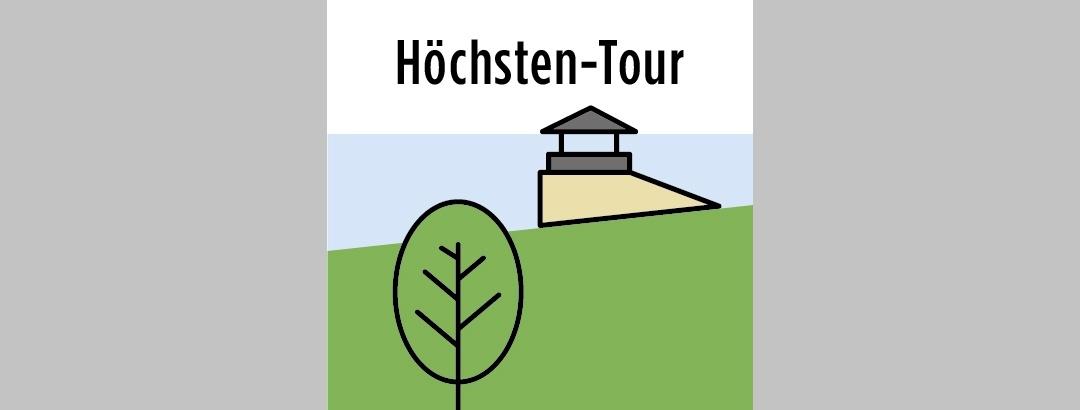 Beschilderung der Höchsten-Tour