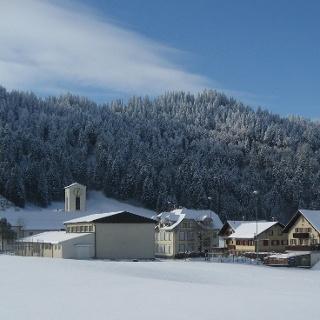 Kurz vor dem Dorf Wiggen