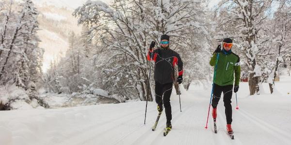 Le plaisir du ski de fond à l'état pur !