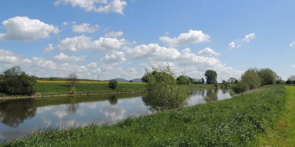 Entlang der Weser zwischen Varenholz und Erder