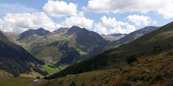 Blick Richtung Val Ravais-ch