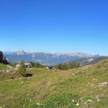 Panoramica da Malga Valli