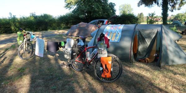 Camping an der Doubt