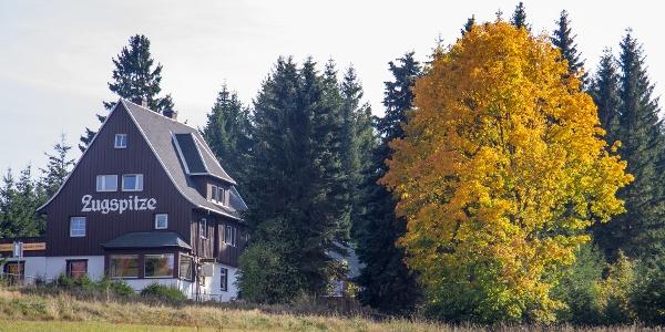 Cafe Zugspitze in Waldidylle / Oberbärenburg