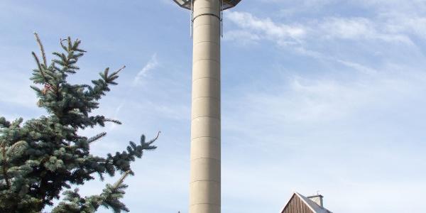Fernsehturm Zinnwald-Lugstein
