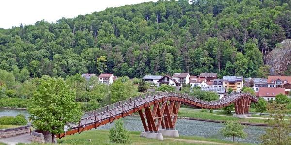 Die längste Holzbrücke Europas