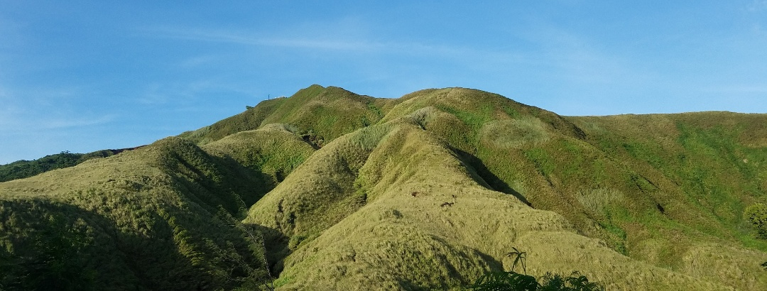 Hügelkette auf Guam