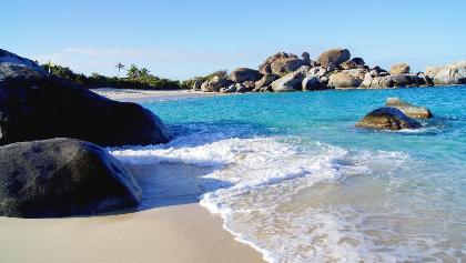 Bay on the Virgin Islands