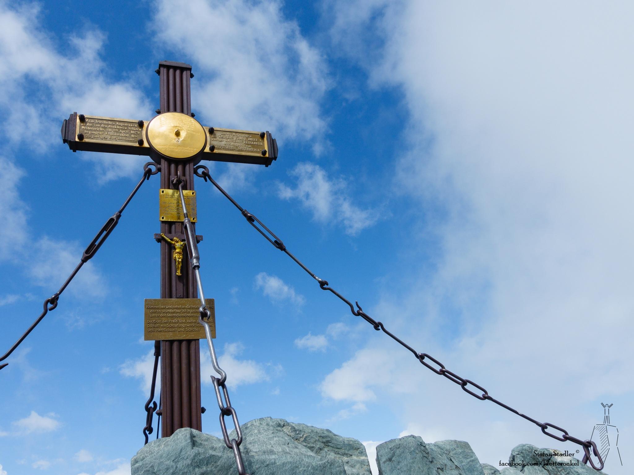Gipfelkreuz Großglockner