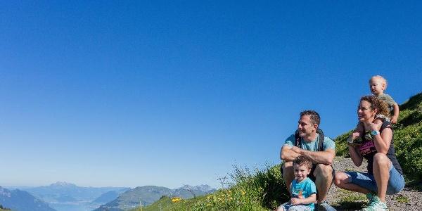 Auf dem Höhenweg, Hoch-Ybrig