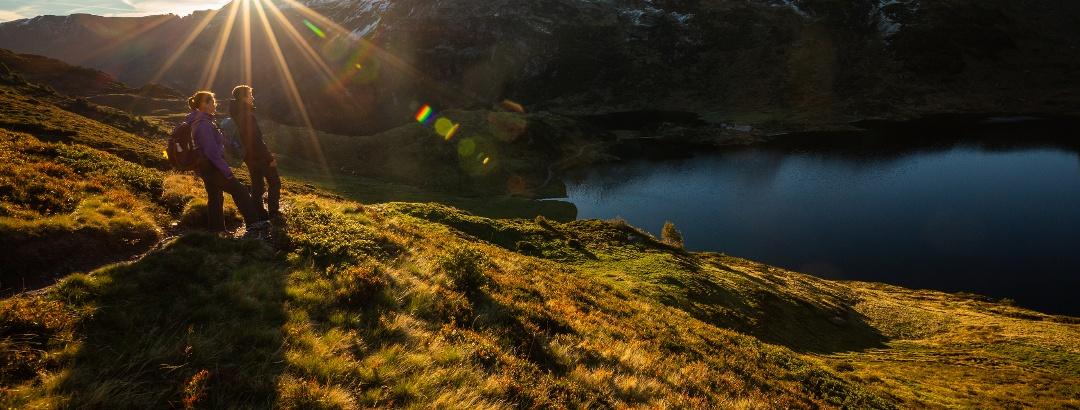 Sonnenaufgang beim oberen Murgsee
