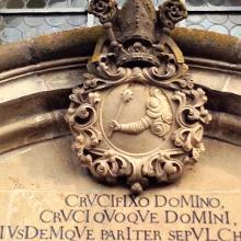 Portal der Heiliggrabkapelle