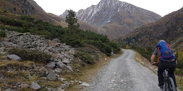 Mit dem Rad zur Amberger Hütte