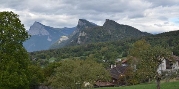 Blick richtung Fläscherberg