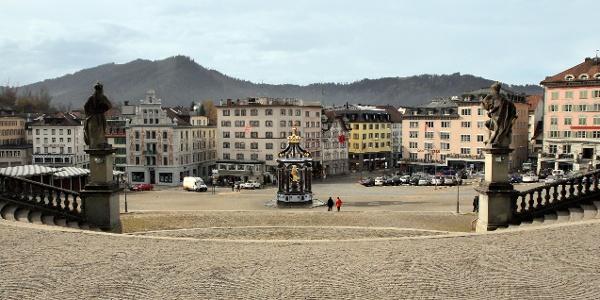 Klosterplatz Einsiedeln