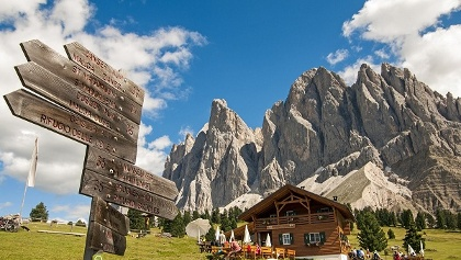 Wandern in den Dolomiten