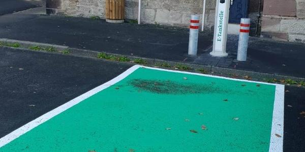 Elektroauto-Ladestation Rathaus Uslar