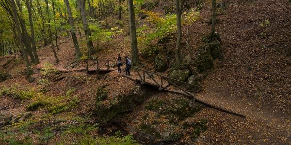 A Dera-szurdok ősszel