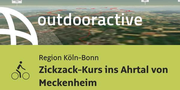 Radtour in der Region Köln-Bonn: Zickzack-Kurs ins Ahrtal von Meckenheim