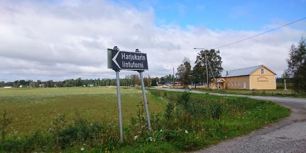 Harjunkarin lintutorni, Marinkainen, Kokkola